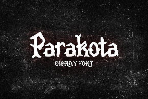 Download Parakota font (typeface)