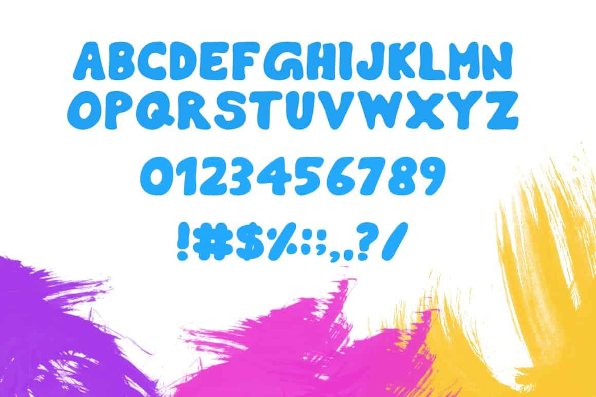 Download Burly font (typeface)