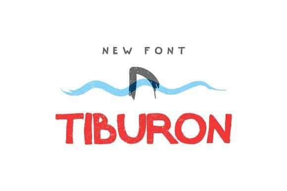Download Tiburon font (typeface)