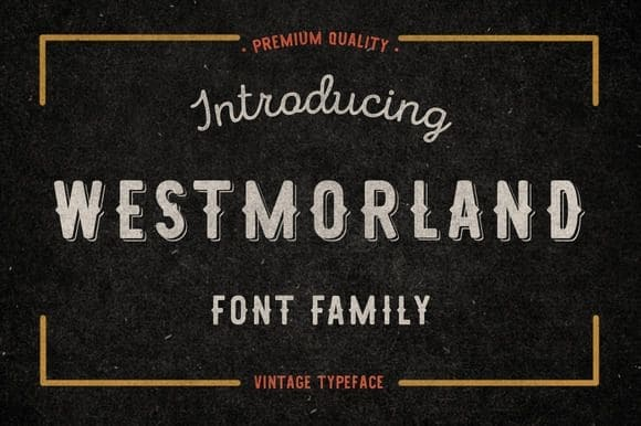 Download Westmorland font (typeface)
