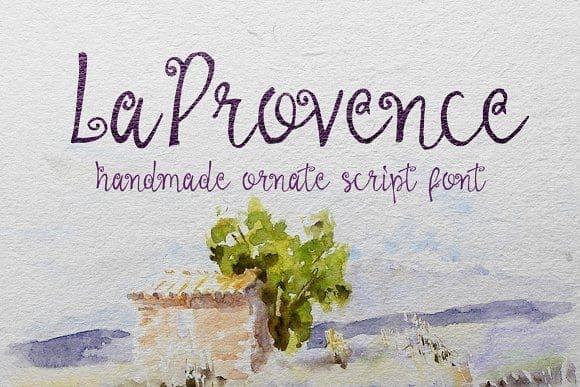 Download La Provence font (typeface)