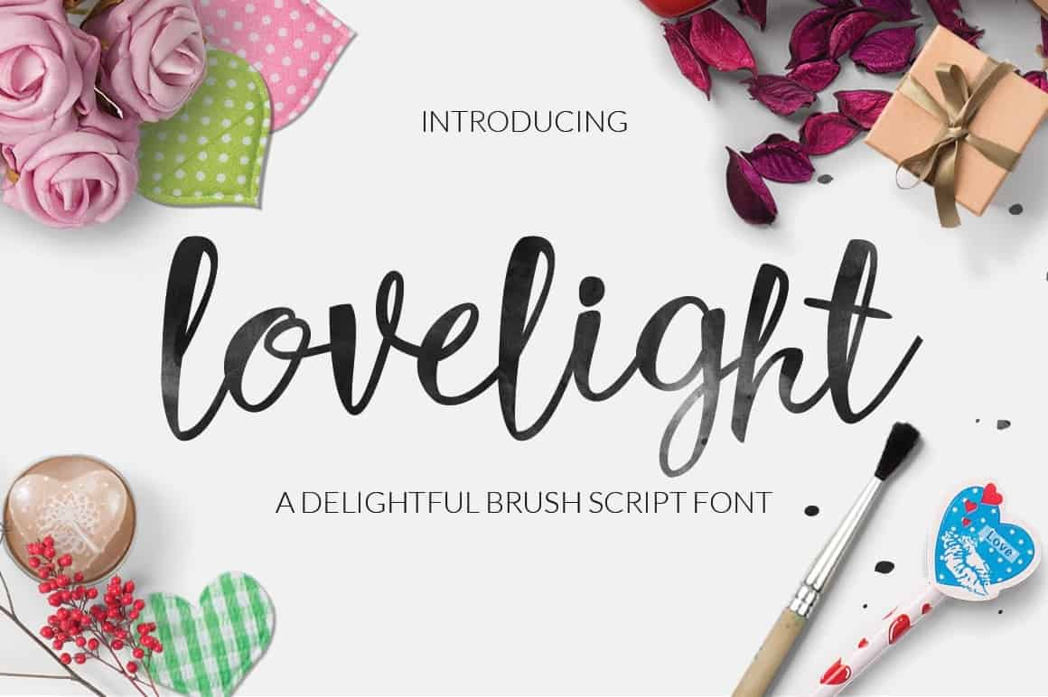 Download Lovelight font (typeface)