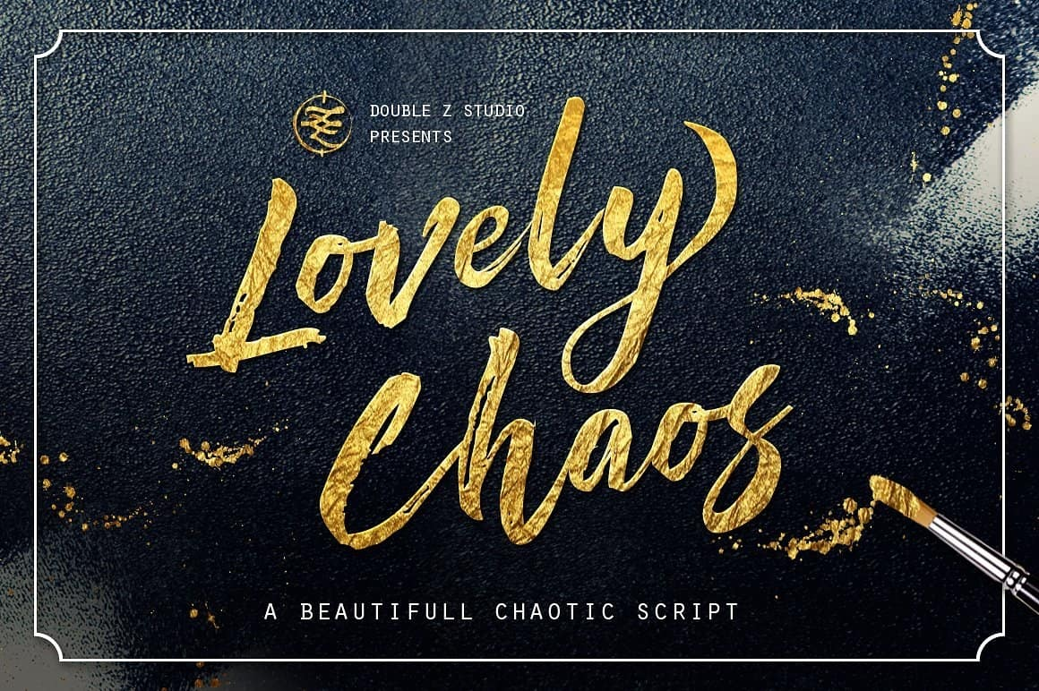 Download Lovely Chaos font (typeface)