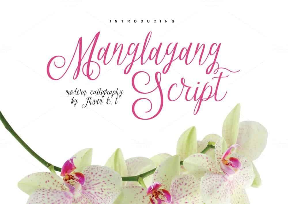 Download Manglayang font (typeface)