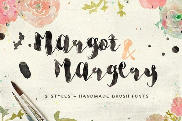 Download Margotand Margery font (typeface)