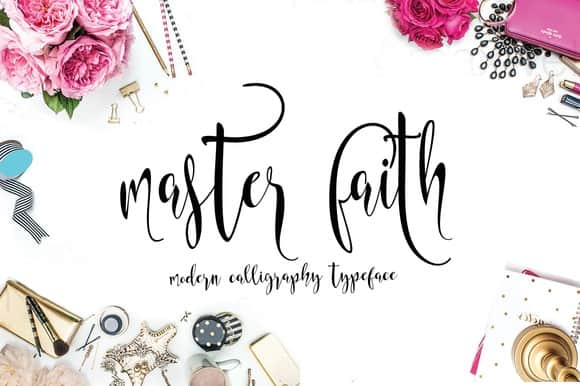 Download Masterfaith font (typeface)