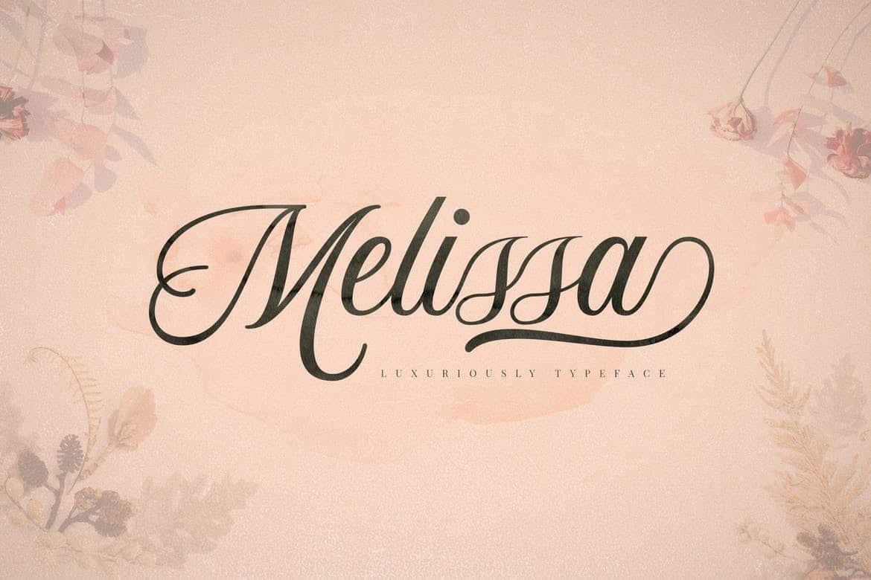 Download Melissa font (typeface)