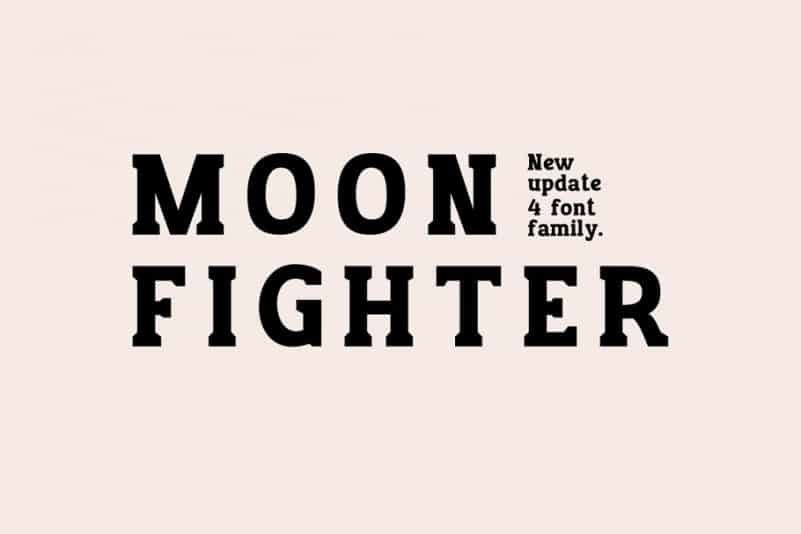 Download Moon Figther font (typeface)