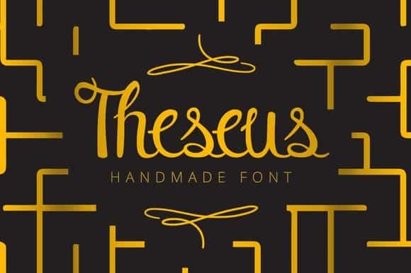 Download Theseus font (typeface)