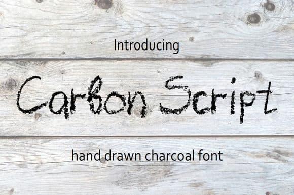 Download Carbon Script font (typeface)