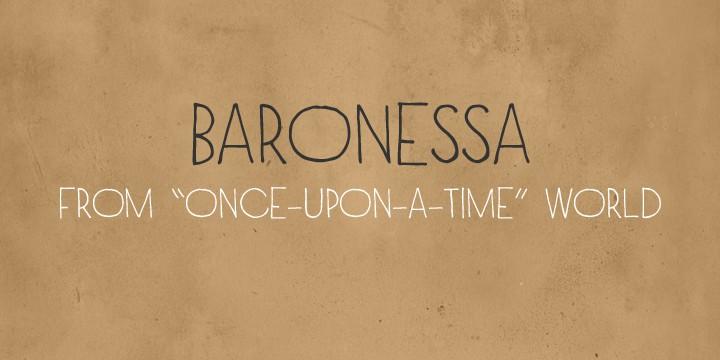 Download Baronessa font (typeface)