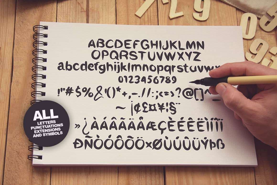 Download Mikelin font (typeface)