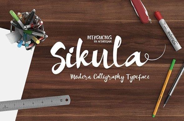 Download Sikula font (typeface)
