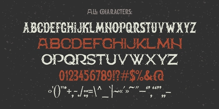 Download The Freaky Circus font (typeface)