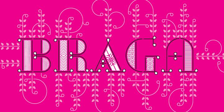 Download Braga font (typeface)