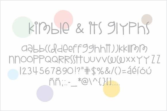 Download Kimble font (typeface)