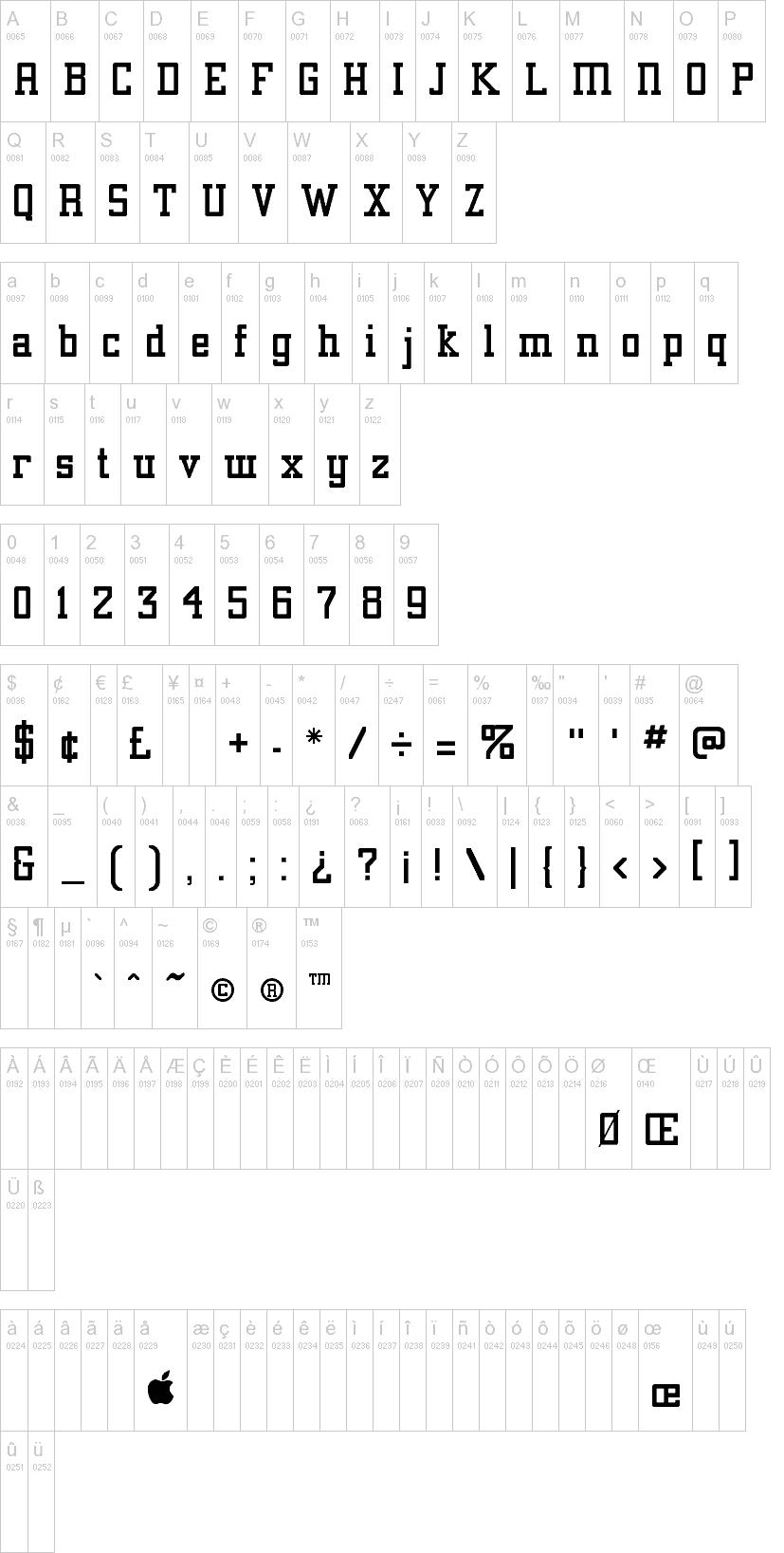 Download Alexandria font (typeface)