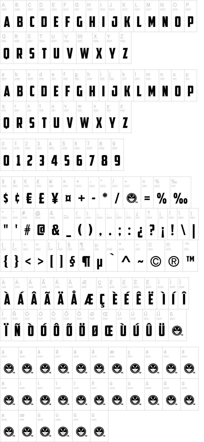 Download Captain America font (typeface)