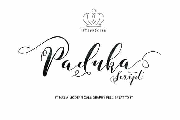 Download Paduka Script font (typeface)