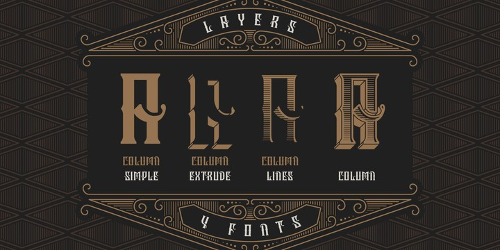 Download Column font (typeface)