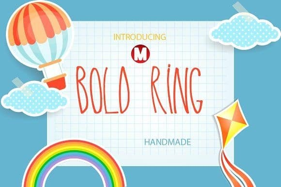 Download Bold Ring font (typeface)