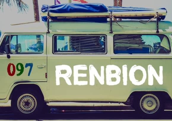 Download Renbion font (typeface)