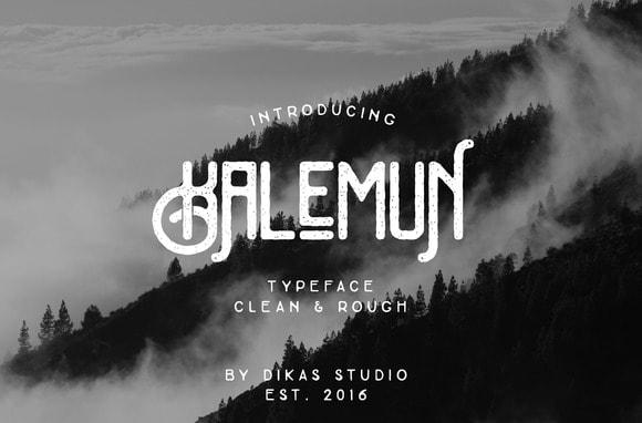 Download Kalemun Typeface font (typeface)