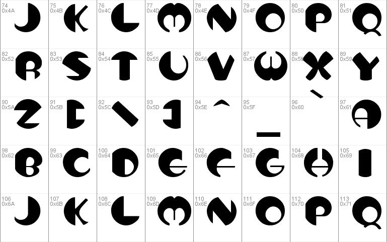Download Tottem 1 font (typeface)
