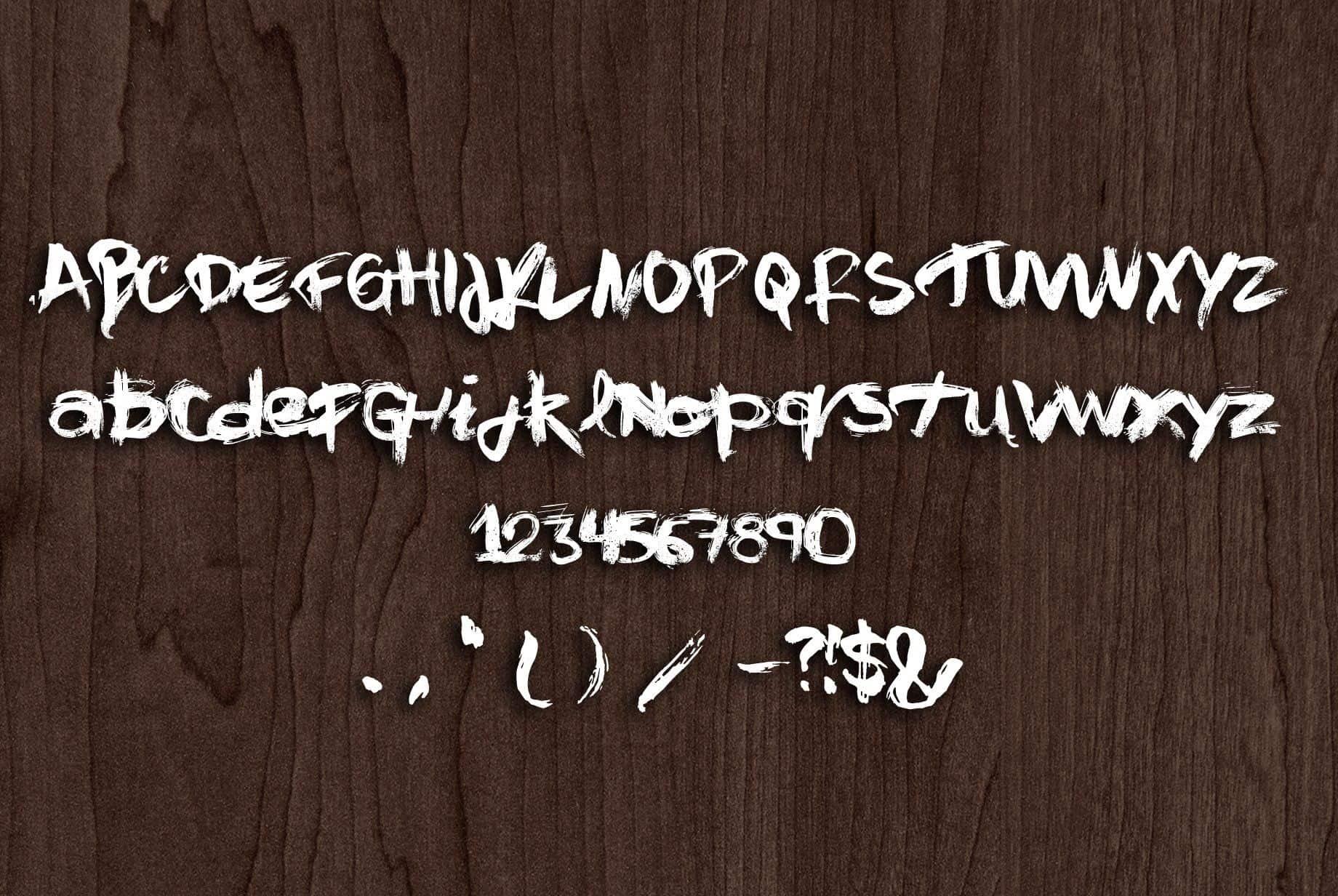 Download Njajalen font (typeface)