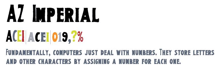 Download AZ Imperial font (typeface)
