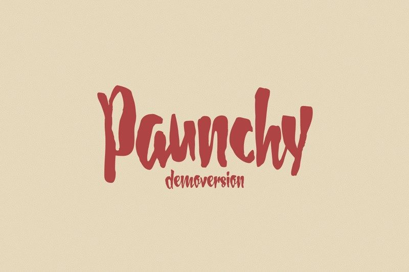 Download Paunchy font (typeface)