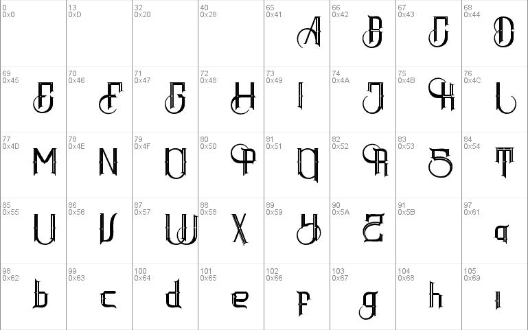 Download Inlander Batavia font (typeface)
