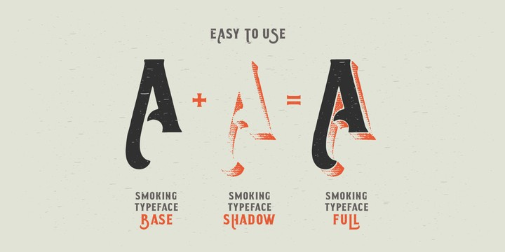 Download Smoking Typeface font (typeface)