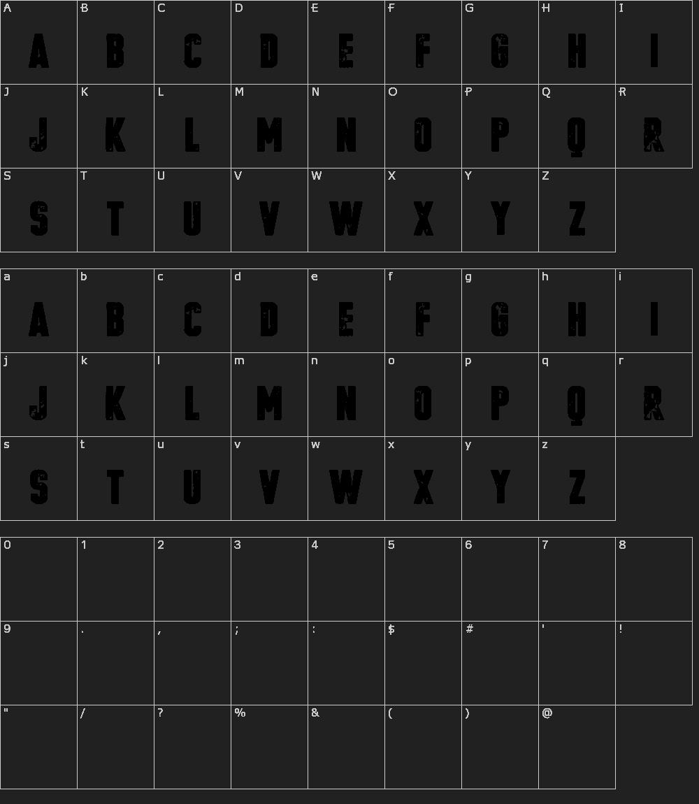 Download VTKS Poster font (typeface)