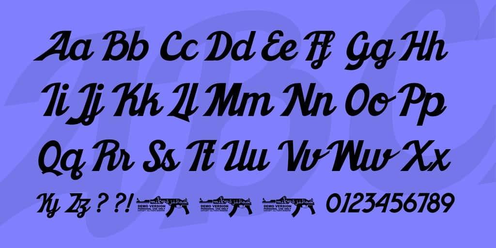 Download Khadija Script font (typeface)
