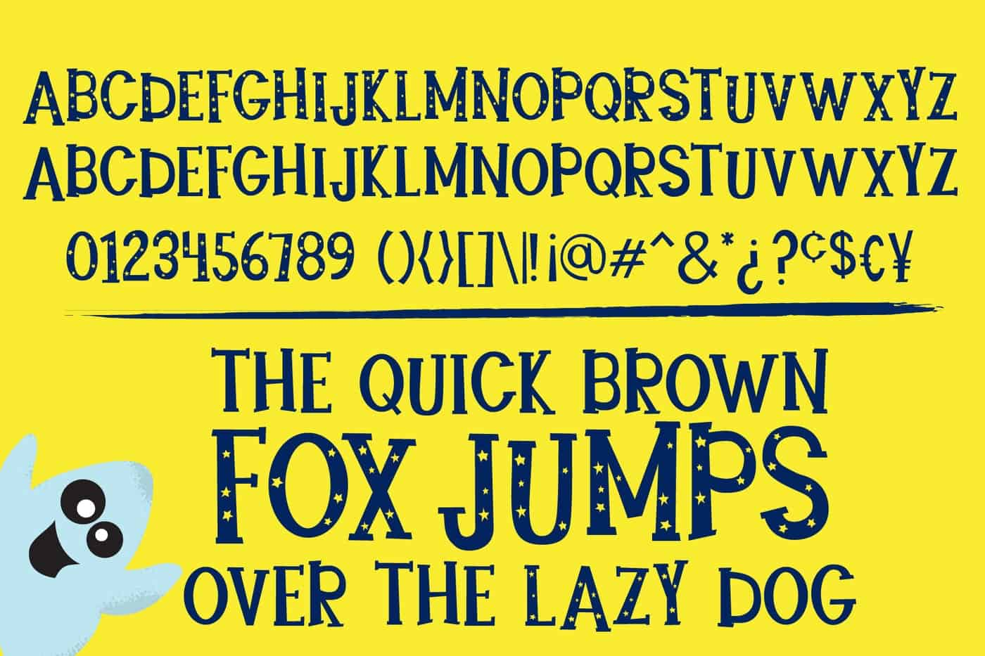 Download Starbright font (typeface)