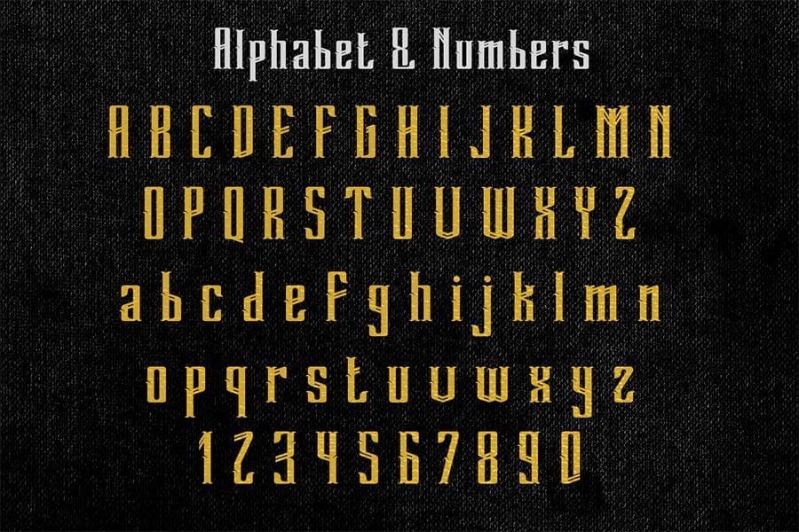 Download Grandeven font (typeface)