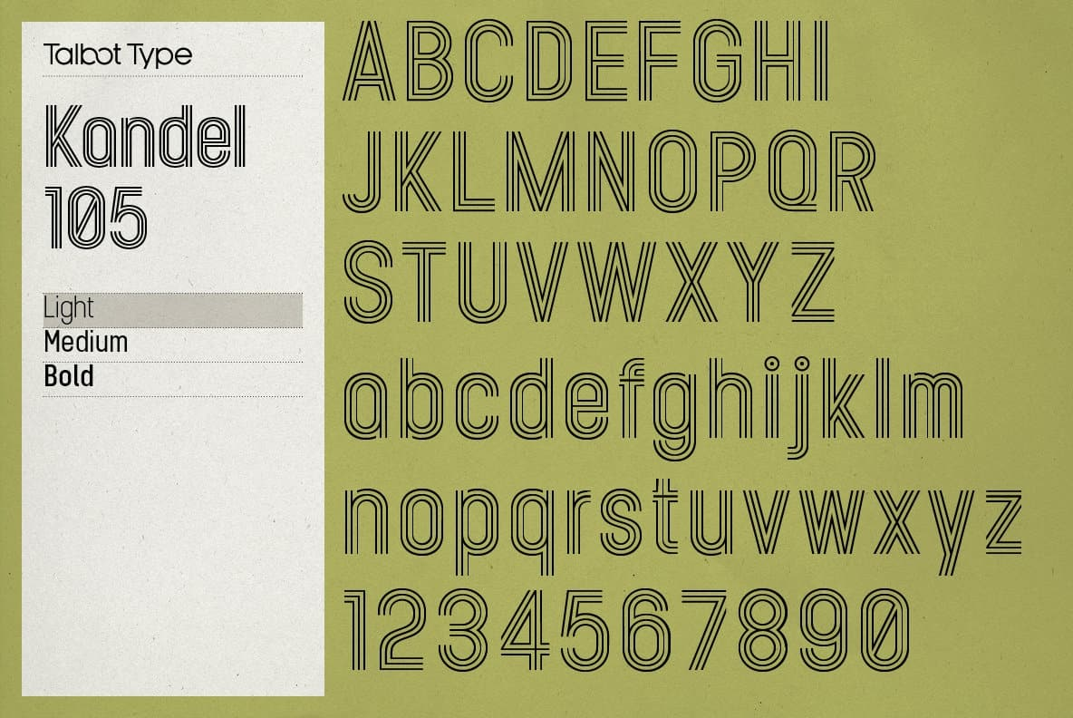 Download Kandel font (typeface)