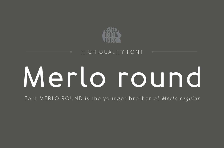 Download Merlo font (typeface)