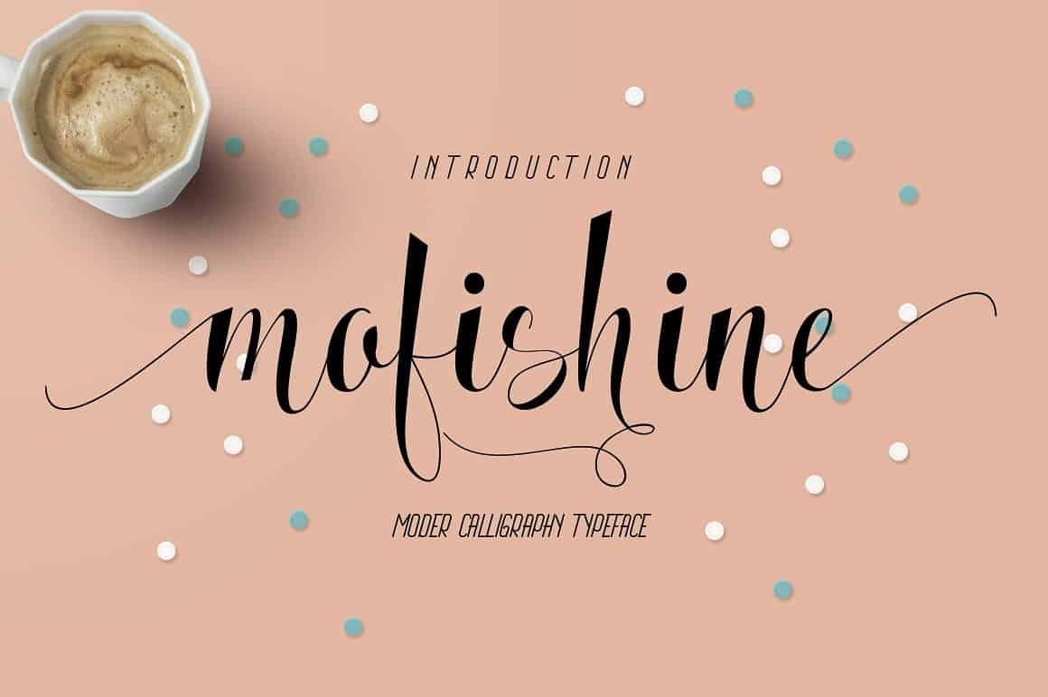 Download Mofishine font (typeface)
