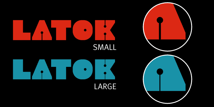Download Latok font (typeface)