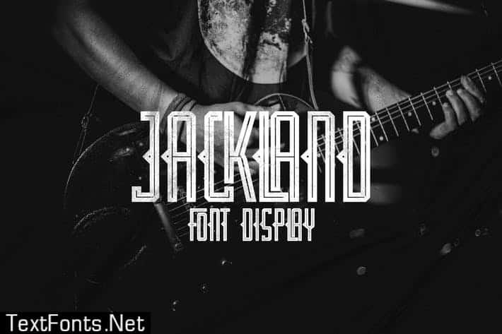 Download JACKLAND font (typeface)