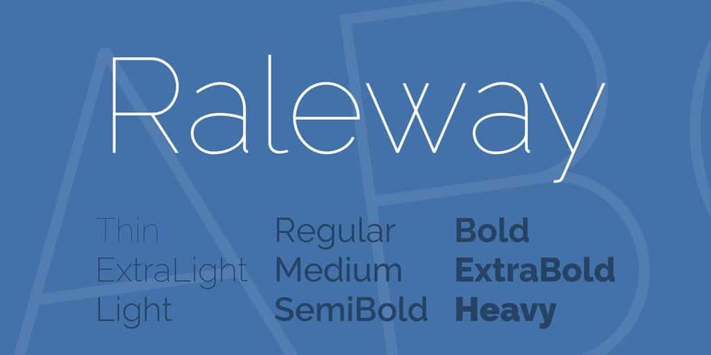 Download Railway font (typeface)