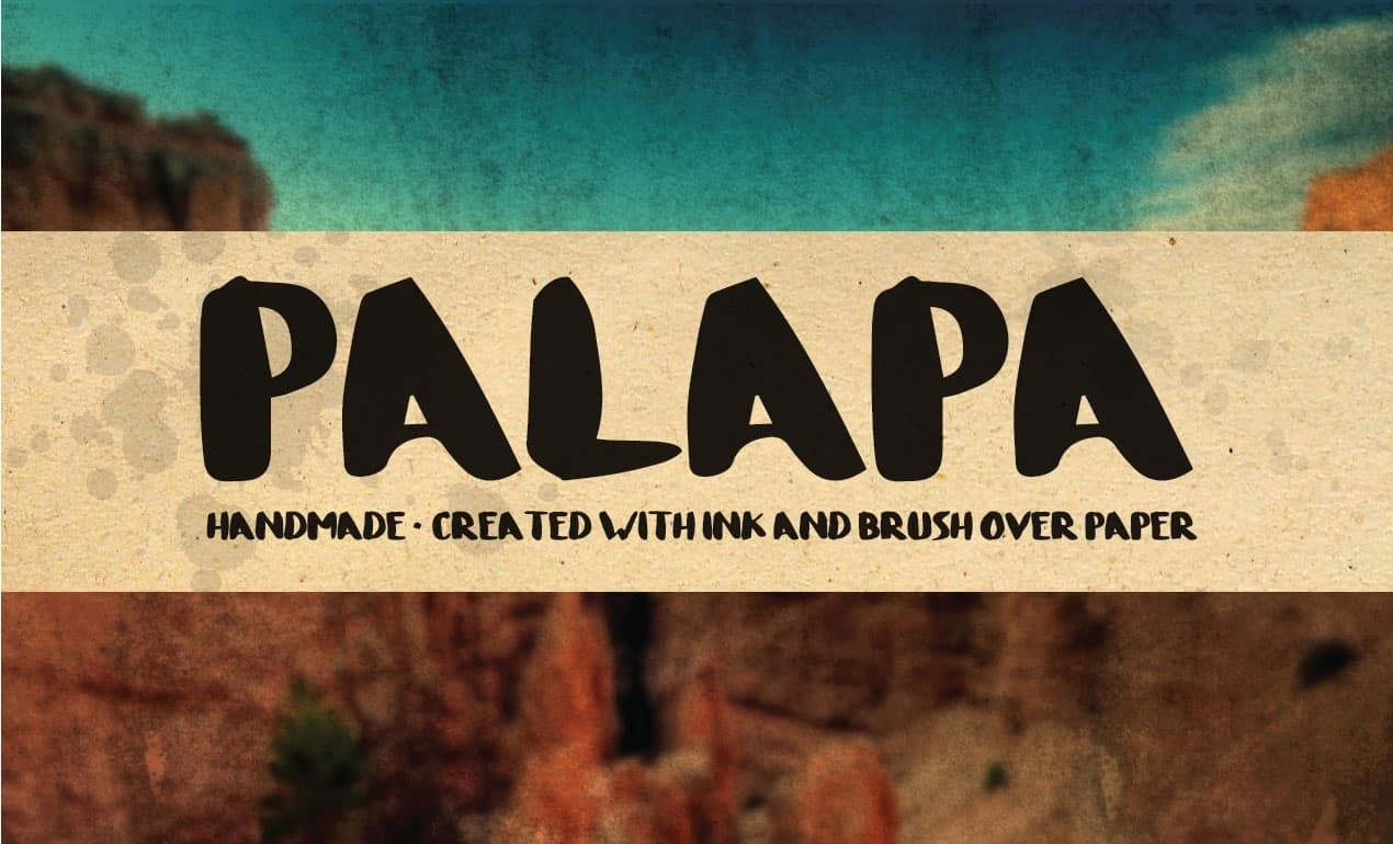 Download Palapa font (typeface)