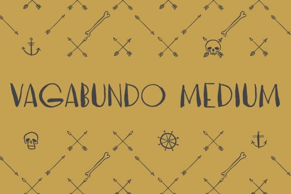 Download Vagabundo Medium font (typeface)
