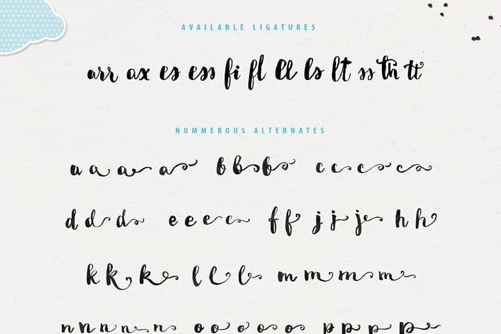 Download Miletta Typeface font (typeface)