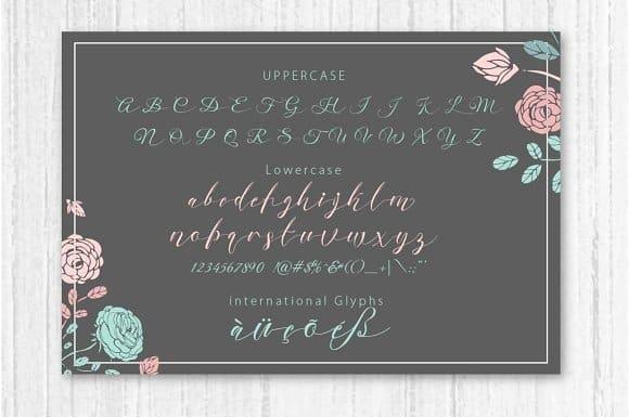 Download Nella Script font (typeface)