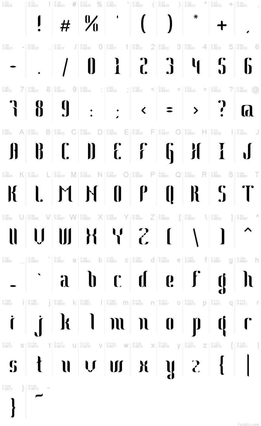 Download Johanna font (typeface)