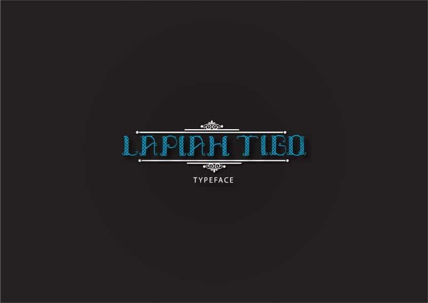 Download Lapiah Tigo font (typeface)