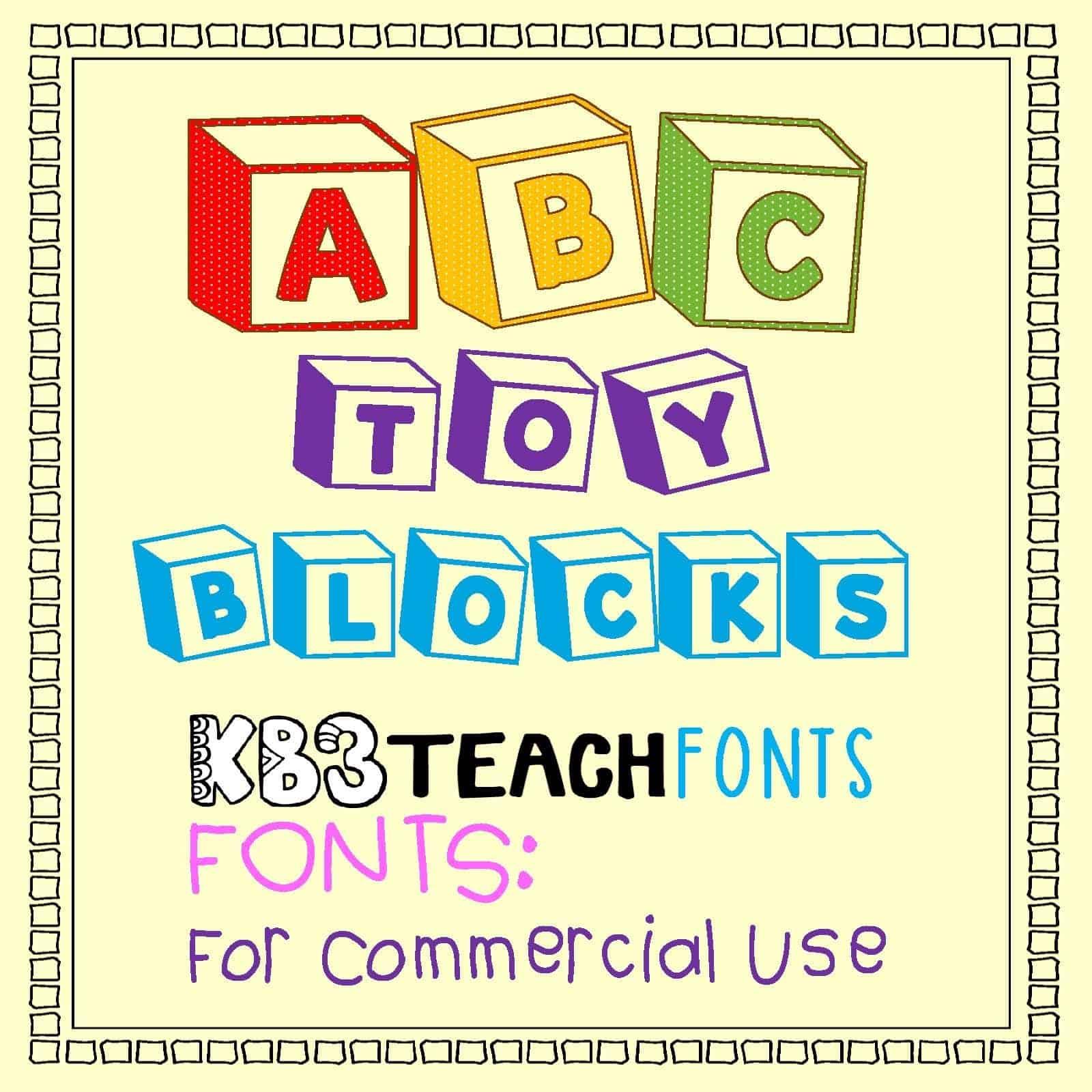 Download K26 Toy Blocks 123 font (typeface)